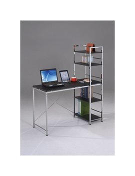 Elvis Student Computer Desk, Black And Chrome by Acme Furniture