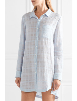 Dinah Textured Cotton Gauze Nightdress by Skin
