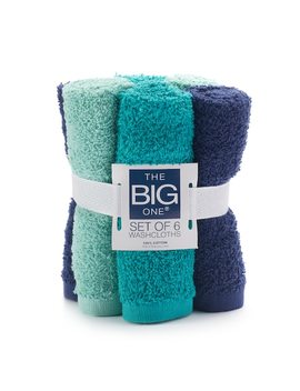 The Big One® 6 Pack Washcloths by The Big One