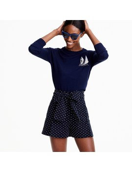 Sailboat Tippi Sweater In Merino Wool by J.Crew
