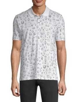 Scribble Print Polo by Hugo