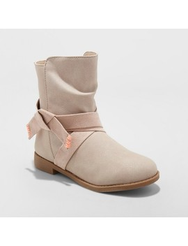 Girls' Sassie Slouch Boots   Cat & Jack™ Taupe by Cat & Jack™