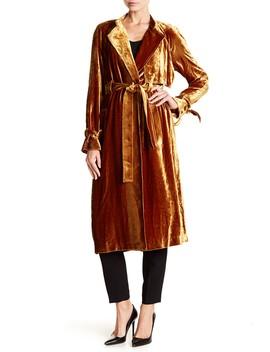Velvet Wrap Style Robe by A.L.C.
