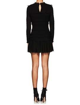 Gia Silk Chiffon Mini Dress by Ulla Johnson