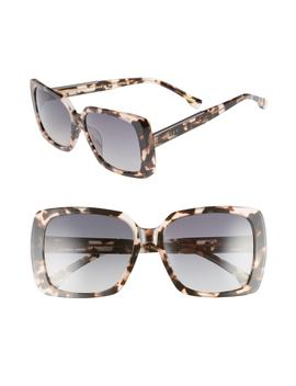 Sophie 52mm Polarized Sunglasses by Diff