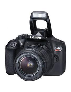Canon T6 Eos Rebel Dslr Camera W/ 18 55mm Is Ii + 75 300mm Iii Double Zoom Kit by Canon