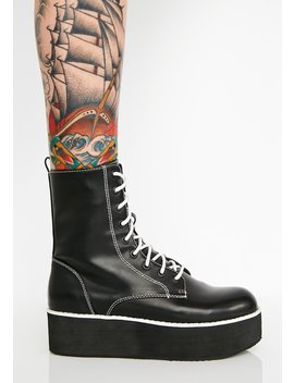 X California Girls Rage Platform Boots by Rocket Dog