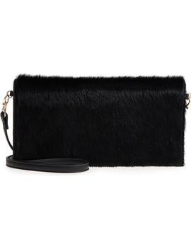Tesso Genuine Calf Hair Clutch by Sole Society