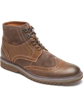 Jaxson Wingtip Boot by Rockport