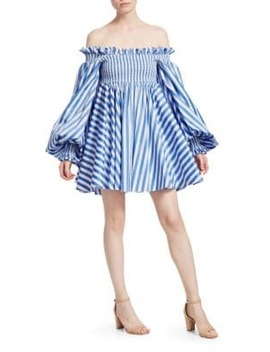 Kora Off The Shoulder Dress by Caroline Constas