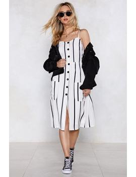Bring Into Line Striped Dress by Nasty Gal