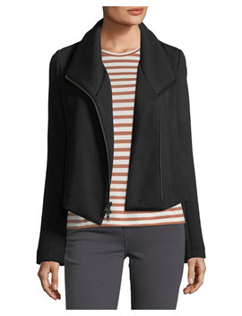 Zip Front Scuba Jacket by Vince