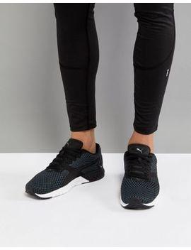 Puma Running Ignite Dual Core Sneakers In Black 19048901 by Puma