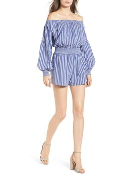 Bishop + Young Off The Shoulder Romper by Bishop And Young