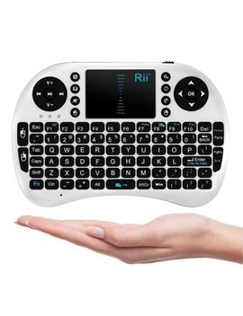 Rii Mini I8 2.4 G Wireless Keyboard With Touchpad For Pc Pad Google Android Tv Box Usb by Rii