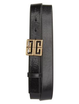 4 G Leather Belt by Givenchy