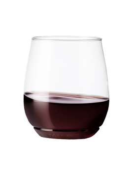 Tossware 14oz Vino   Recyclable Wine Plastic Cup   Set Of 12   Stemless, Shatterproof And Bpa Free Wine Glasses by Tossware