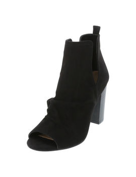 Women's Samika Peep Toe Boot by Learn About The Brand Brash