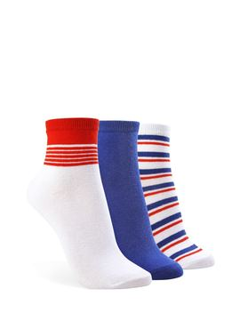 Assorted Crew Socks – 3 Pack by Forever 21