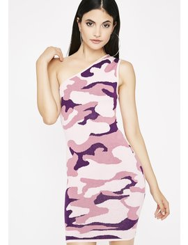 They Can't Hide Camo Dress by Lux La