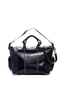 Ryan Italian Leather Weekend Bag by Persaman New York