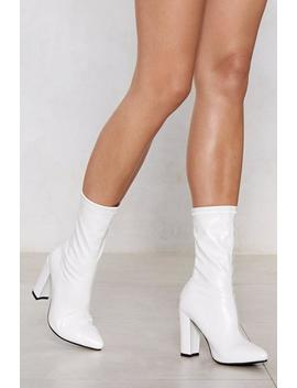 Put A Sock In It Heel Boot by Nasty Gal