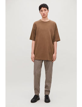 Relaxed ¾ Sleeve T Shirt by Cos