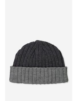Fishermans Beanie by Cotton On