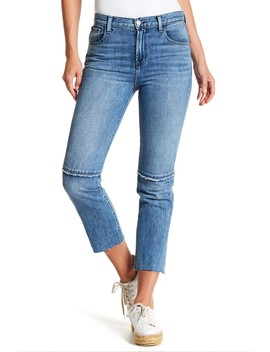 Ruby High Waist Cigarette Cropped Jeans by J Brand