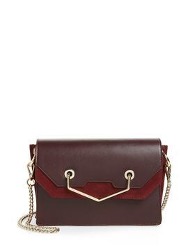 Premium Leather & Suede Soko Shoulder Bag by Topshop