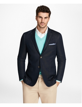 Milano Fit Knit Blazer by Brooks Brothers