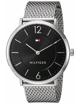 Tommy Hilfiger Men's 'sophisticated Sport' Quartz Stainless Steel Watch, Color:Silver Toned (Model: 1710355) by Tommy+Hilfiger