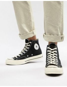 Converse Chuck Taylor All Star '70 Hi Trainers In Black 162050 C by Converse