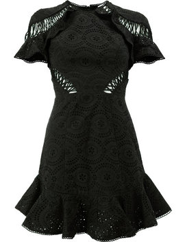 Zimmermannruffled Mini Dresshome Women Clothing Cocktail & Party Dresses by Zimmermann