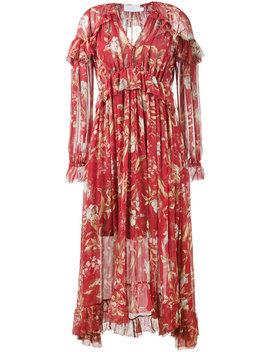 Zimmermann Corsair Iris Cape Dresshome Women Clothing Day Dresses by Zimmermann