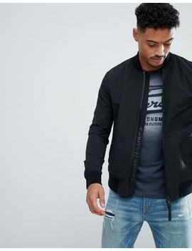 Superdry Bomber In Black by Superdry