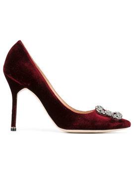 Manolo Blahnik Hangisi Pumpshome Women Shoes Pumps by Manolo Blahnik