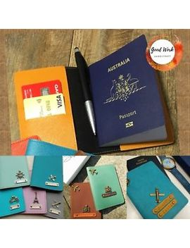 personalised-leather-passport-cover-holder-with-free-tag-name-and-charm by goodwork-handicraft