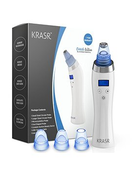 [2018 Upgraded] The Original Comedo Suction Microdermabrasion Machine Blackhead Removal... by Krasr