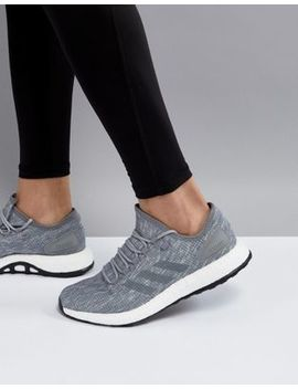 Adidas Running Pure Boost In Grey Bb6278 by Adidas