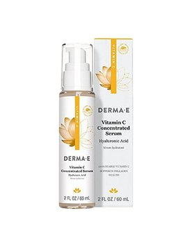 Derma E Vitamin C Concentrated Serum With Hyaluronic Acid 2oz by Derma E