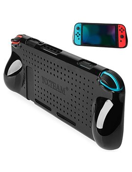 Switch Cover Protector, Heat Dissipation Comfortable Shock Protective Case For Nintendo Switch Grip, Slim And Light by Yuup