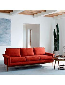 "Leon Wood Frame Sofa (82"") by West Elm"