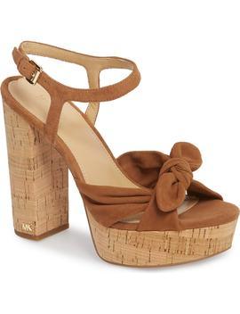 Pippa Platform Sandal by Michael Michael Kors