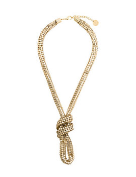 Silvia Gnecchiknot Necklacehome Women Jewellery Necklaces by Silvia Gnecchi