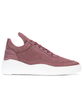 Filling Piecesplatform Sole Sneakershome Men Shoes Low Tops by Filling Pieces