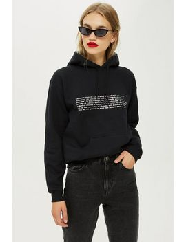 Obsession Hoodie by Topshop