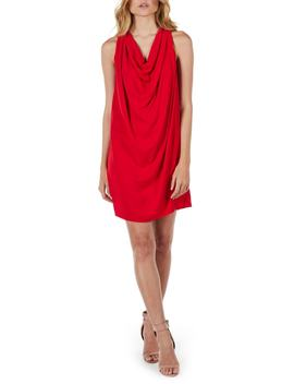 Draped Halter Mini Dress by Michael Stars