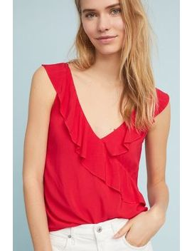 Artemisia Ruffled Top by Velvet By Graham & Spencer