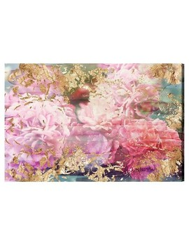 "Oliver Gal Unframed Wall ""Rose Rhapsody"" Canvas Art by Oliver Gal"